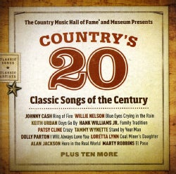 Various - Country Music Hall Of Fame Presents Country's 20 Classic Songs Of The Century