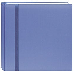Snapload Blue Cloth Cover 12x12 Album with 40 Bonus Pages