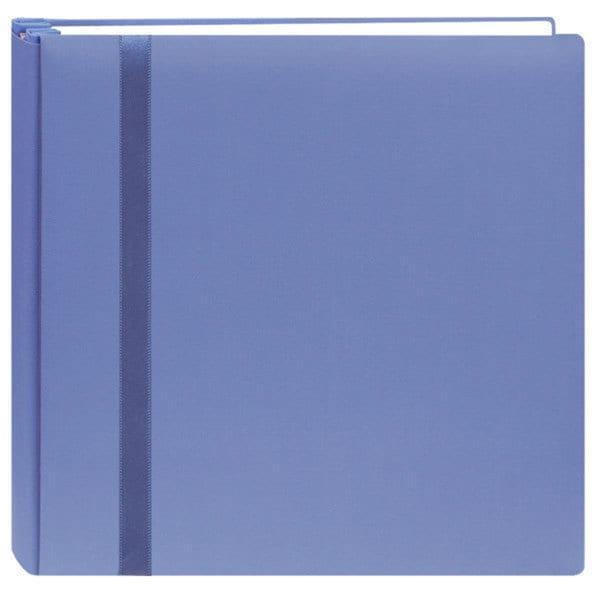 Snapload Blue Cloth Cover 12x12 Album with 40 Bonus Pages
