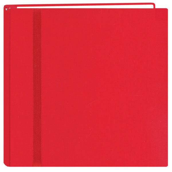 Snapload Red Cloth 12x12 Memory Album with 40 Bonus Pages