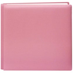 Pioneer Family Treasures Petal Pink 12x12 Memory Book with 40 Bonus Pages