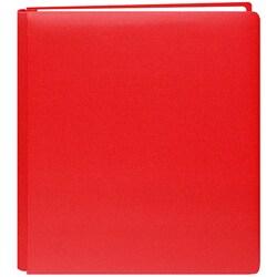Pioneer Family Treasures Cardinal Red 8.5x11 Memorybook with 40 Bonus Pages