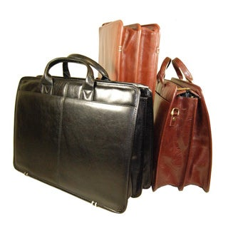 Torino Top Zip Double Gusset Briefcase