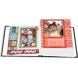En Vogue Designer 12x12 Scrapbook Album with 40 Bonus Pages