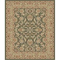 Traditional Green Ushak Rug (2'7 x 4'1)