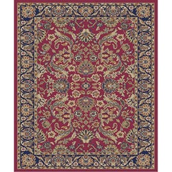 Traditional Red Sultanabad Rug (2'7 x 4'1)