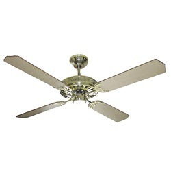 Polished Brass Finish 52-inch Ceiling Fan