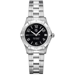 Tag Heuer Women's WAF1310.BA0817 Aquaracer Black Dial Watch