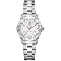 Tag Heuer Aquaracer Women's WAF1312.BA0817 Diamond Dial Watch