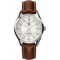 Tag Heuer Men's WV211A.FC6203 Carrera Brown Leather Automatic Watch