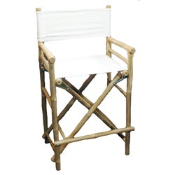 Bamboo 2-piece Bar-height Director Chairs (Vietnam)
