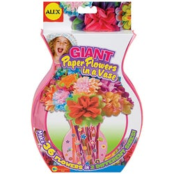 Giant Paper Flowers Vase Kit