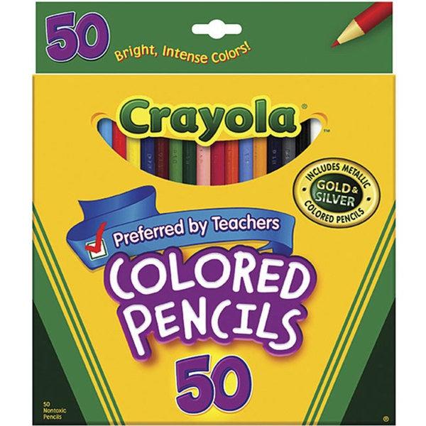 Crayola 50 Colored Pencils