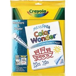 Crayola Color Wonder Marker and Paper Set