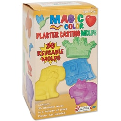 Magic Color Plaster Casting Molds