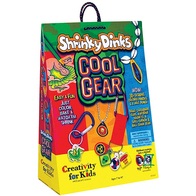 Shrinky Dinks 'Cool Gear' Craft Kit
