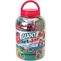 Giant Art Jar Collage Kit