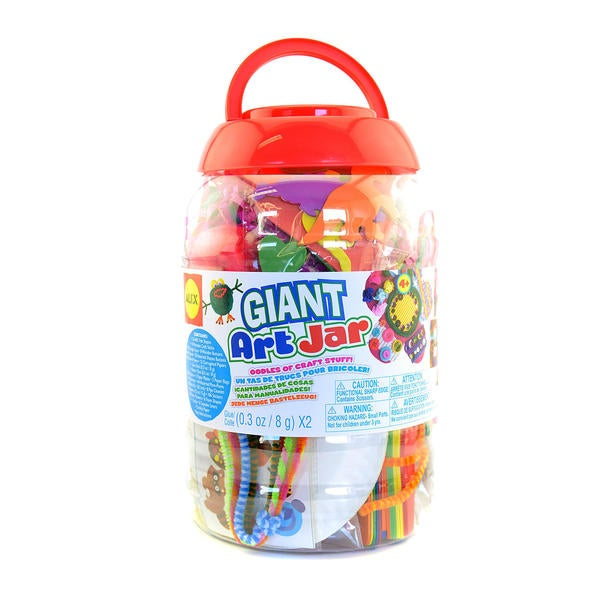 Giant Art Jar Collage Kit