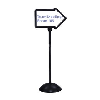 Safco WriteWay Double-Sided Arrow Sign