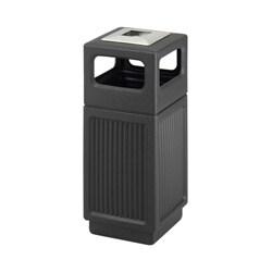 Safco Canmeleon 15-Gallon Polyethylene Outdoor Waste Receptacle