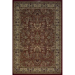 Red Sarouk Traditional Rug (2'7 x 4'1)