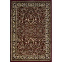 Red Sarouk Traditional Rug (3'11 x 5'3)