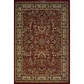 Red Sarouk Traditional Rug (5'3 x 7'3)