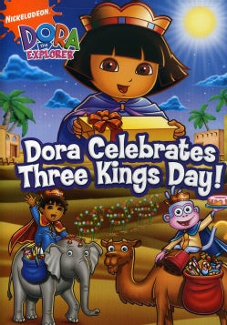 Dora The Explorer: Dora Celebrates Three Kings Day! (DVD)