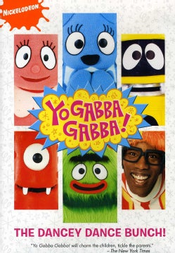 Yo Gabba Gabba: The Dancey Dance Bunch (DVD)