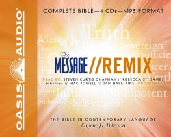 The Message Remix: The Bible in Contemporary Language (CD-Audio)
