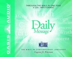 The Daily Message: Through the Bible in One Year (CD-Audio)