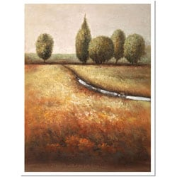 Joval 'In the Country' Framed Canvas Art