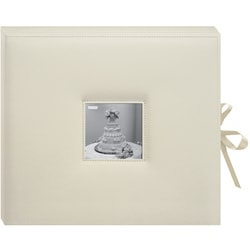 3-ring 40 Page 12x12 Ivory Memory Book Box