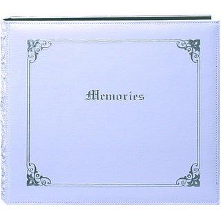 Pioneer 'Memories' 12x12 White Memory Book Binder with 40 Bonus Pages