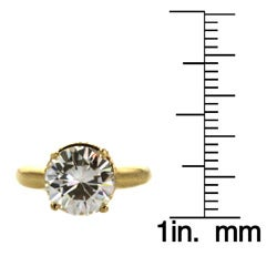 The Simon Frank Collection 14k Yellow Gold Overlay CZ Ring