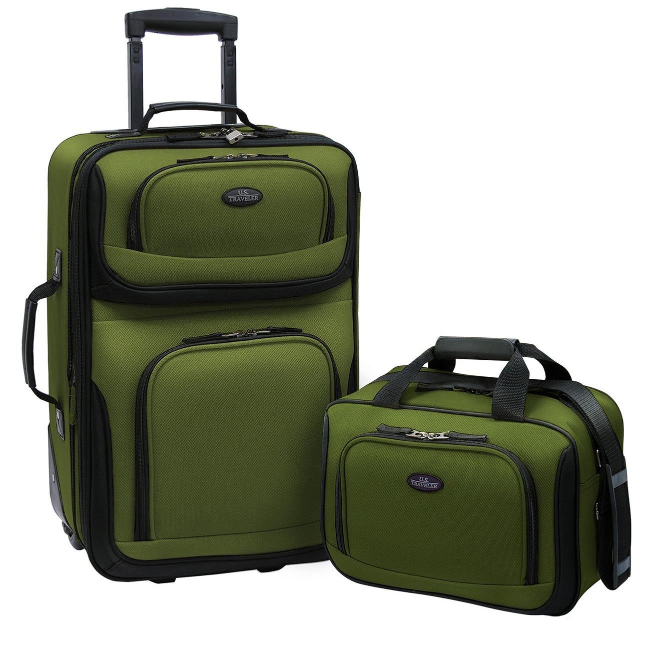Luggage by O U.S. Traveler US5600 RIO 2-piece Expandable Carry-on Luggage Set at Sears.com