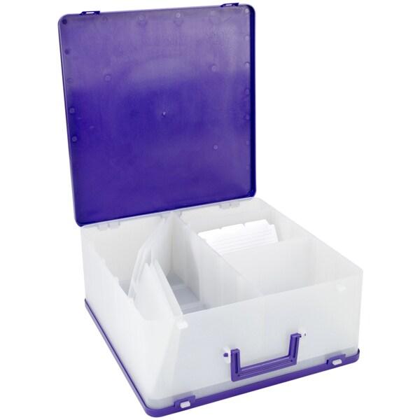 Cropper Hopper Purple Photo Case