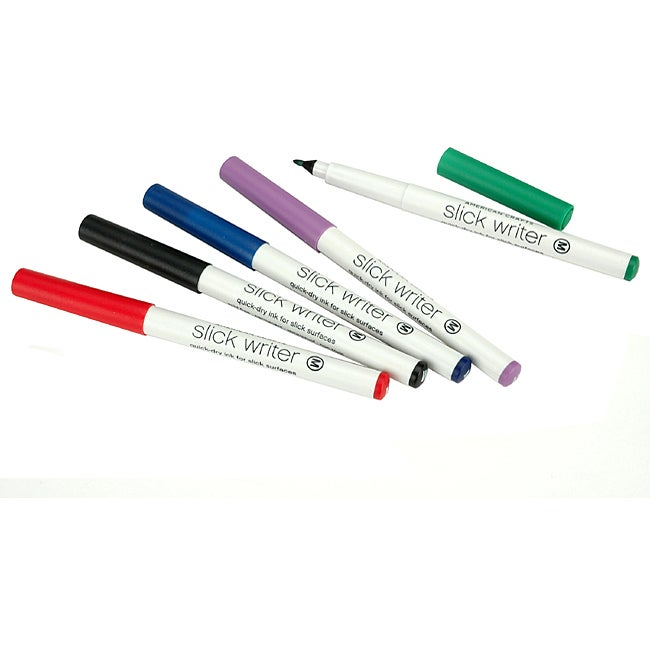 American Crafts Slick Writer Markers (Pack of 5)