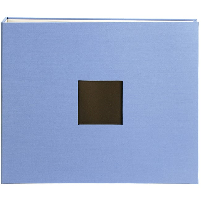 American crafts 12x12 blue cloth d ring album overstock for American crafts 3 ring scrapbook album binder