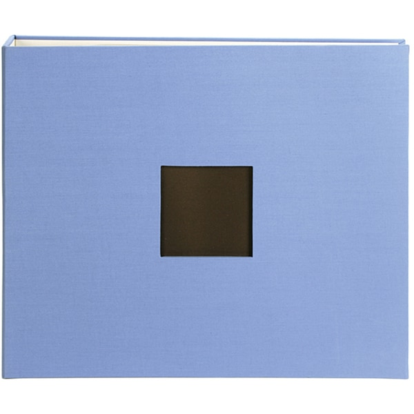 American Crafts 12x12 Blue Cloth D-ring Album
