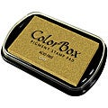 ColorBox Gold Acid-free Metallic Pigment Inkpad for Scrapbooking