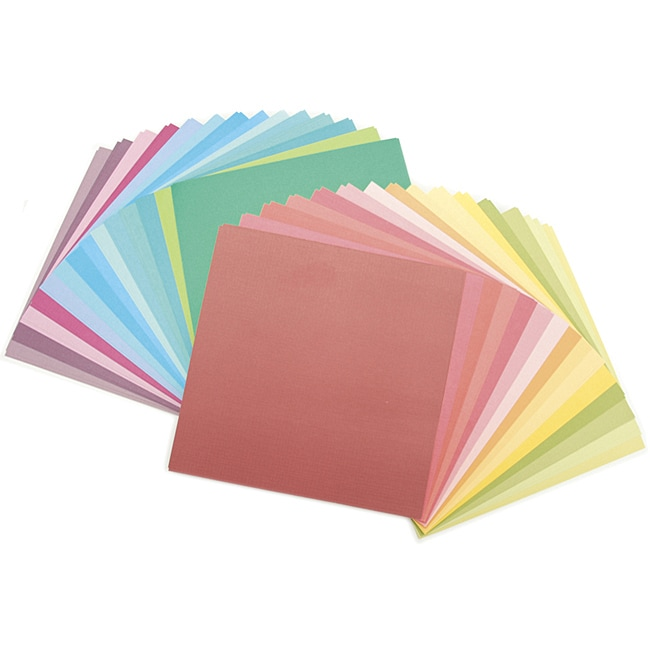 Match Makers Brights Cardstock Multicolor Scrapbooking Paper Stack