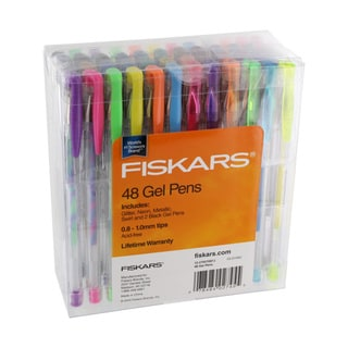 Fiskars Multicolor Acid-free Scrapbooking/Craft Gel Pens (Set of 48)