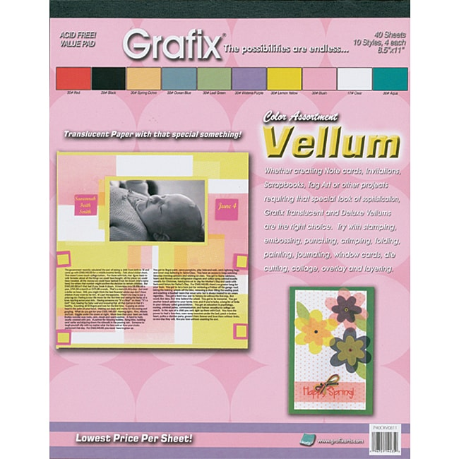 Grafix Vellum Value Pack