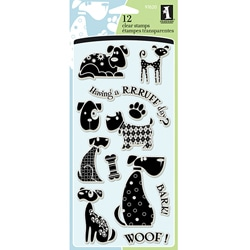 Inkadinkado 'Dogs' Clear Stamps
