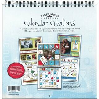 Karen Foster Wall Calendar Scrapbook Album