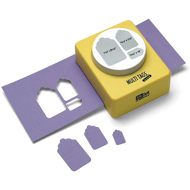 Multi tag paper cutter craft punch overstock shopping for Paper cutter for crafts