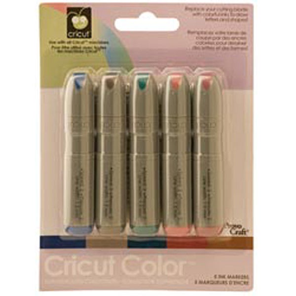 Provo Craft Cricut 5-color Ink Set