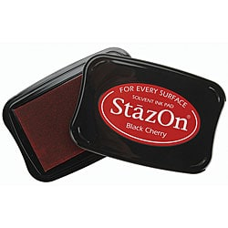 Staz-On Black Cherry Inkpad