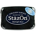 StazOn Midnight Blue Inkpad